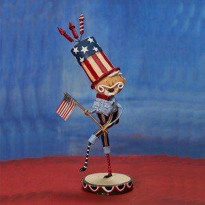 Lori Mitchell Figurine - Bandstand Sam Figurine - Wooden Duck Shoppe