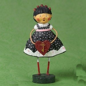 Lori Mitchell - Key to My Heart Figurine - Wooden Duck Shoppe