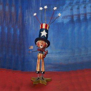 Lori Mitchell Figurine - Uncle Doodle Dandy Figurine - Wooden Duck Shoppe