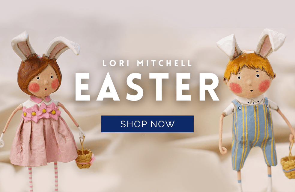 Lori Mitchell Easter and Spring Figurines