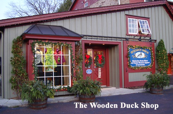 Wooden Duck Shop Store Front
