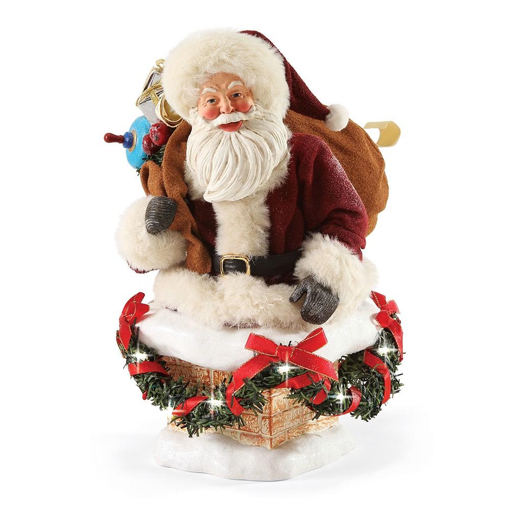 Possible Dreams Santas - Hurry Down Chimney
