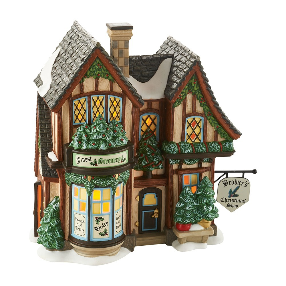department 56 villages wooden duck shoppe. Black Bedroom Furniture Sets. Home Design Ideas