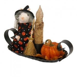 Byers Choice - Mouse Witch with Candle