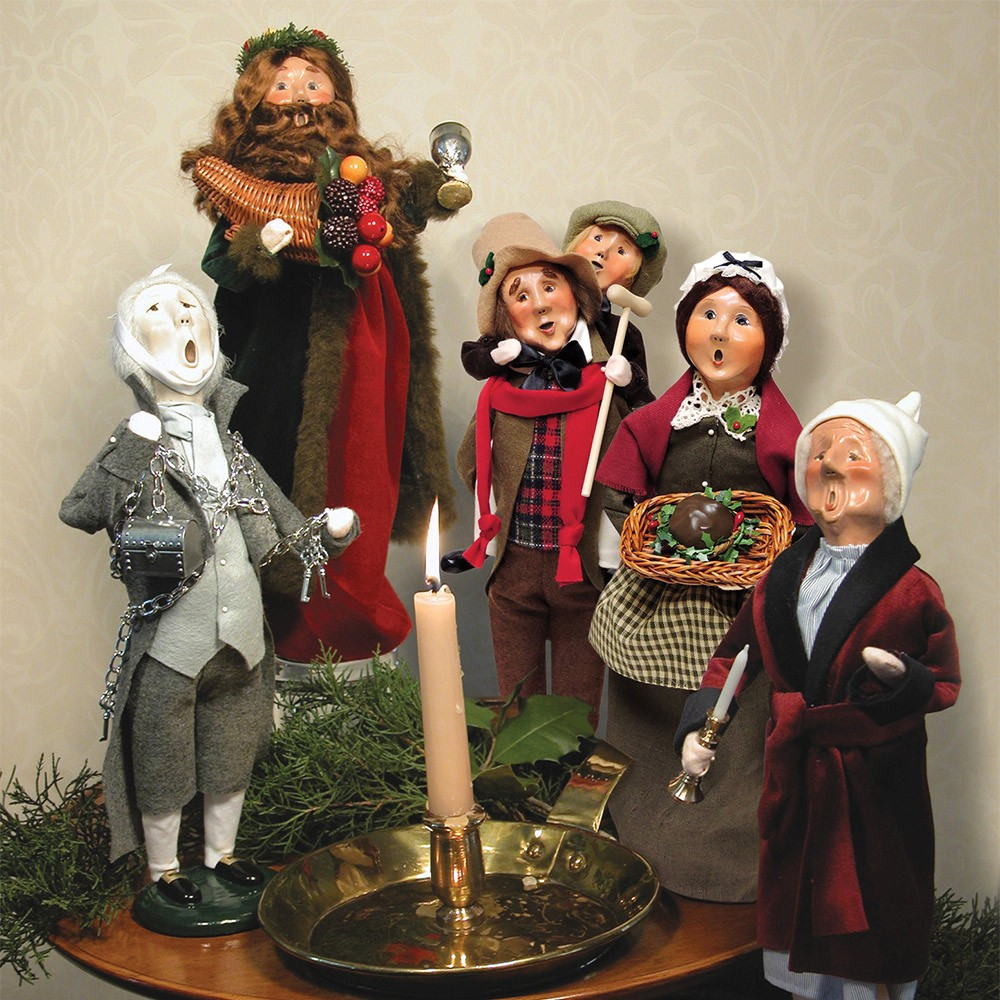Christmas Carol Figurines