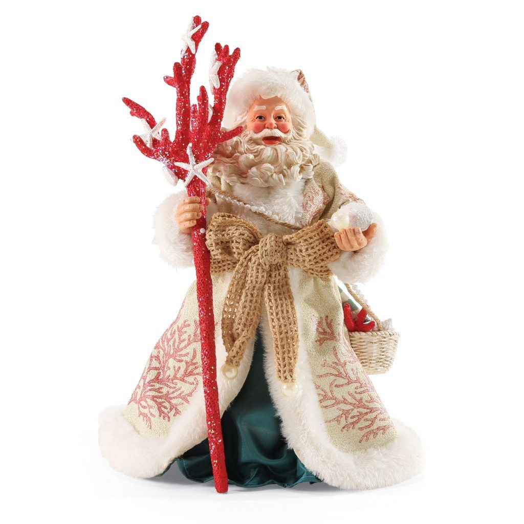 Possible dreams santas coral christmas wooden duck shoppe