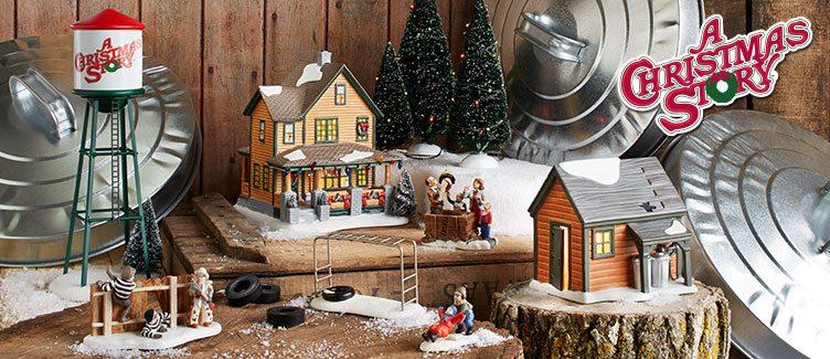 christmas story village - A Christmas Story Village