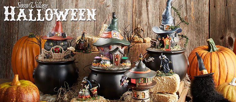 Department 56 Halloween Village Wooden Duck Shoppe