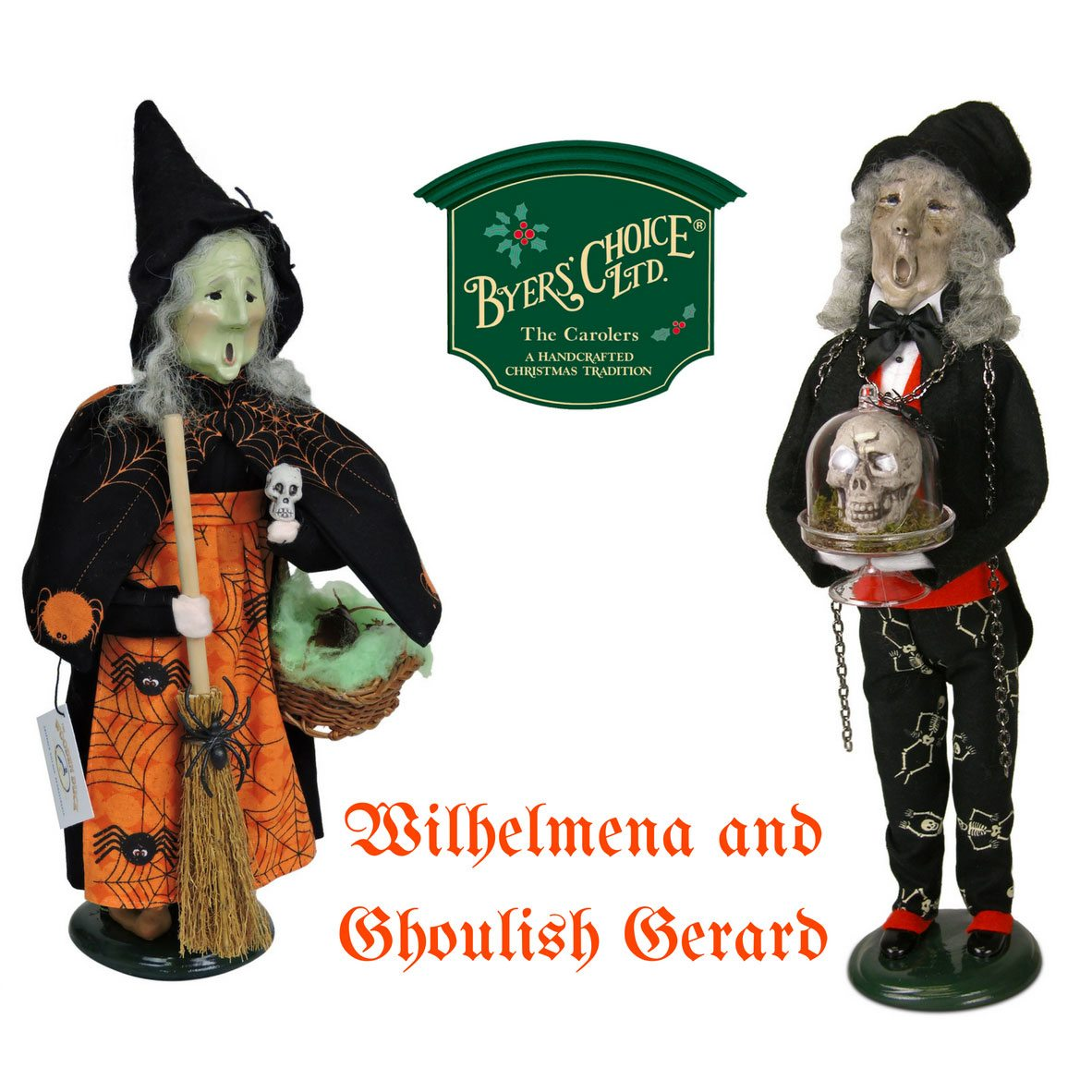 Byers Choice Carolers: Caroler Exclusives For The Wooden Duck