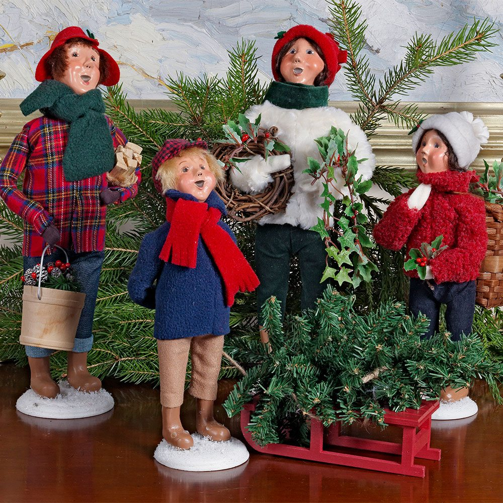 Byers Choice Carolers Wooden Duck Shoppe