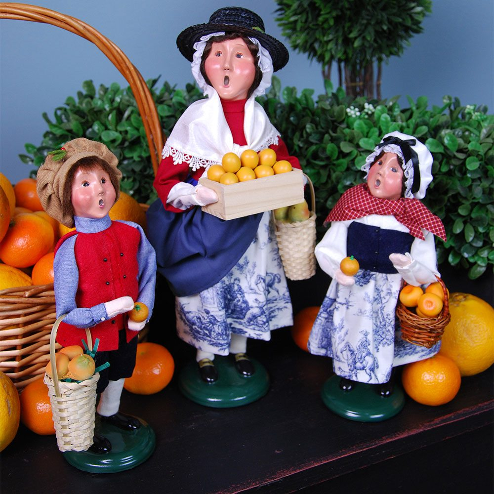 Twelve Days Of Christmas Carolers: Byers' Choice Carolers