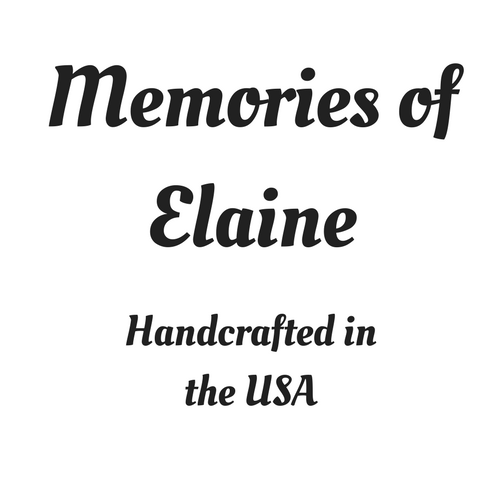 Memories by Elaine - Handcrafted in the USA