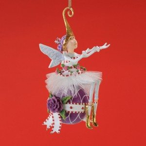 Patience Brewster - Sugar Plum Fairy Ornament - Wooden Duck Shoppe