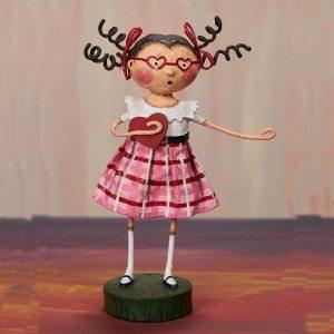 Lori Mitchell Figurine - Professing My Love Figurine - Wooden Duck Shoppe