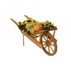 Byers Choice - Harvest Wheelbarrow - Wooden Duck Shoppe