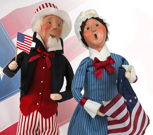 Byers' Choice - Patriotic Carolers
