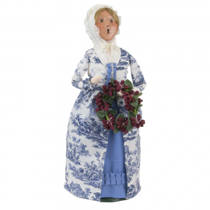 Byers Choice 2021 EASTER GIRL Beautiful Victorian Blue EARLY SHIP-In Stock NOW